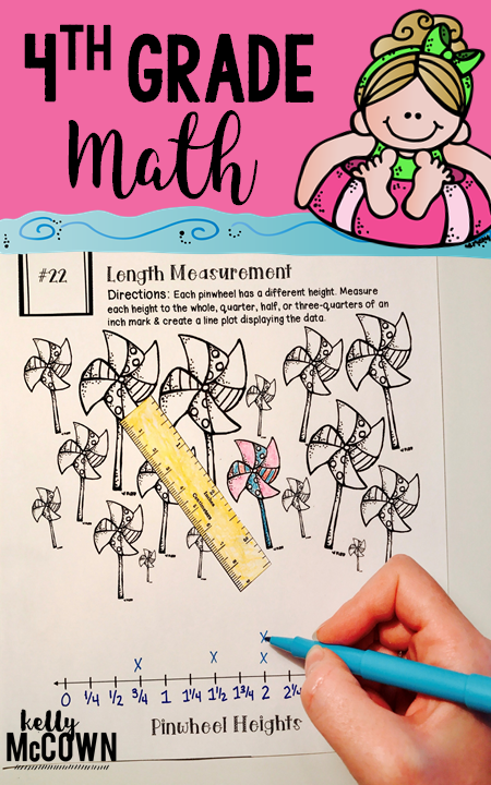 Summer Math Review For 4th Grade Have Your Students Be Prepared For