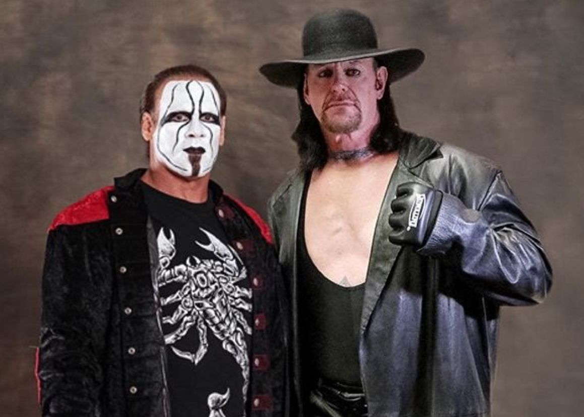 La Lucha Libre Wwe 2014 Sting And Undertaker Wwe Pinterest Lucha Libre