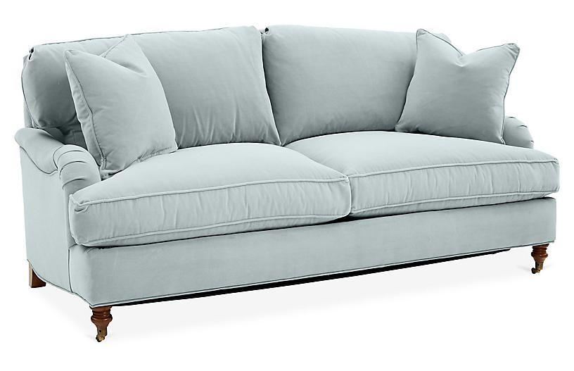 Sensational Brooke Sleeper Sofa Seafoam Crypton Home Decorating In Cjindustries Chair Design For Home Cjindustriesco