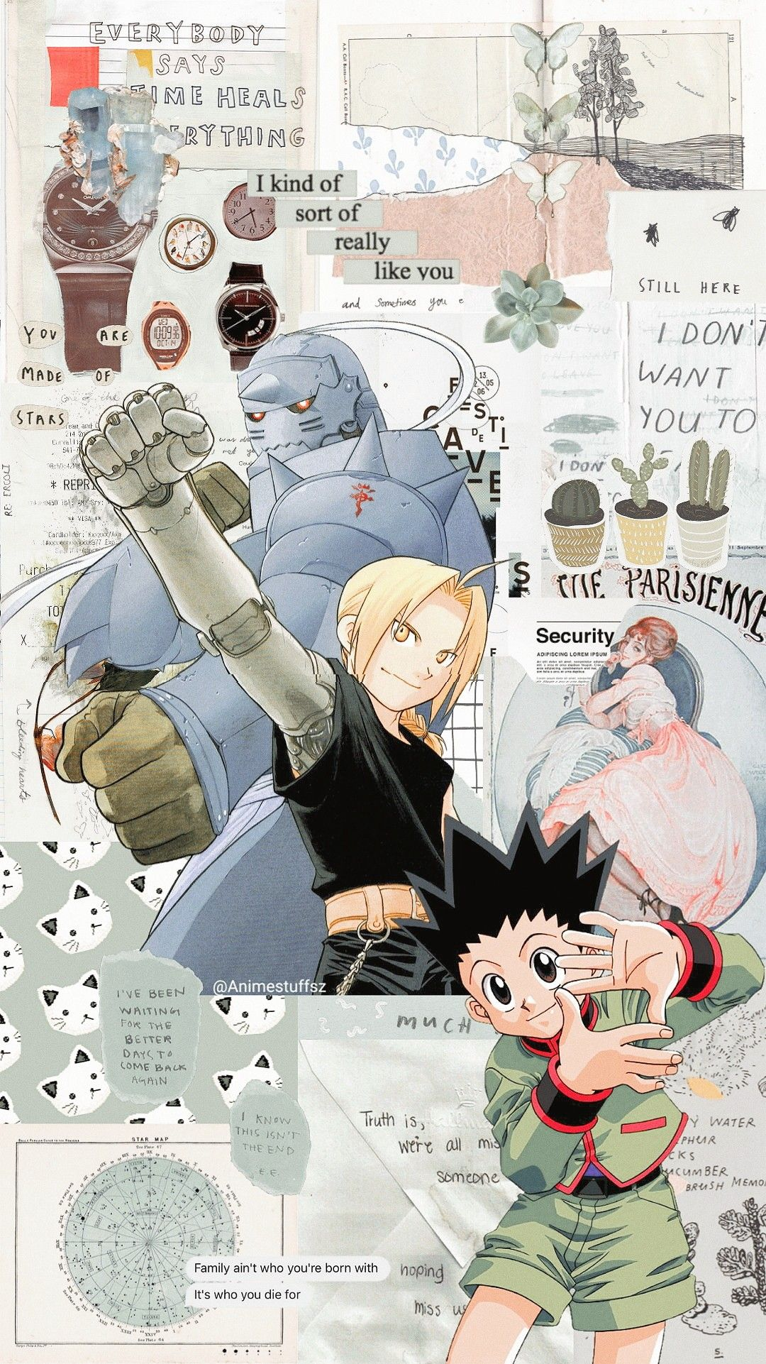 Fma Hxh With Images Anime Wallpaper Iphone Anime Wallpaper