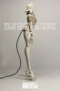 TOYSREVIL: Zomb MD & Albino Nurses by 3A Toys Will See You On...