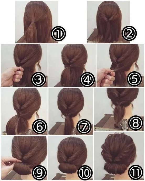 40 easy to do hairstyle ideas for winter 36, #easy #hairstyle #ideas # ...