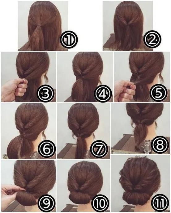 40 Ideas de peinado fáciles de hacer para el invierno 36 # fácil #peinado #ideas #invierno