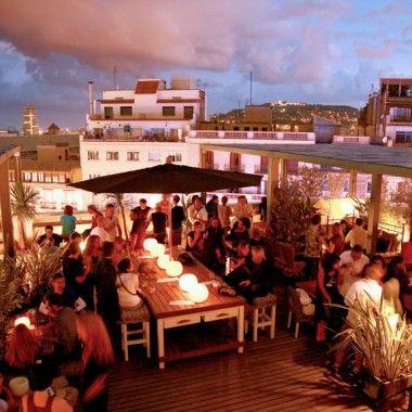 Pulitzer Terrace Hotel Pulitzer Barcelona Best Rooftop Bars Rooftop Bar Design Rooftop Bar