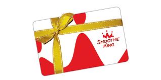 Smoothie King Gift Card