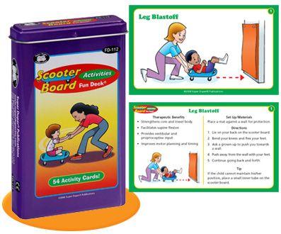 Scooter board activities