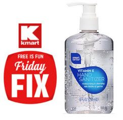 Kmart Friday Fix Free Hand Sanitizer Must Clip Coupon Today