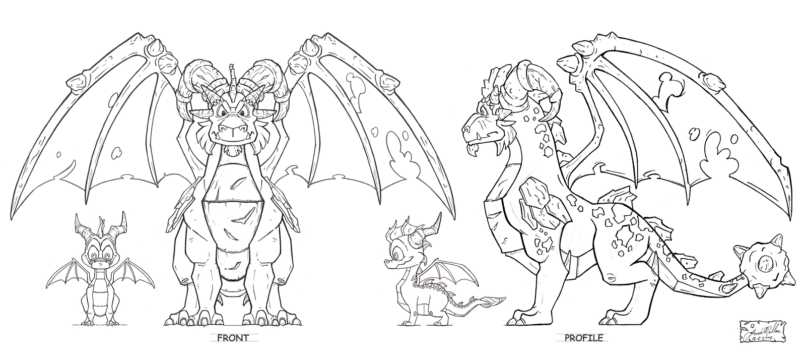 Tlos Dragonguardian Terrdor Elevations By That Spyro Guy Dragon Coloring Page Dragon City Printable Coloring Pages