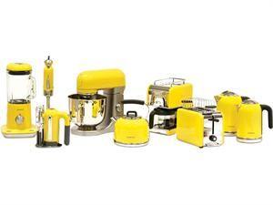 The Kmix Boutique Range Colorful Kitchen Appliances Yellow Kitchen Appliances Yellow Kitchen Accessories