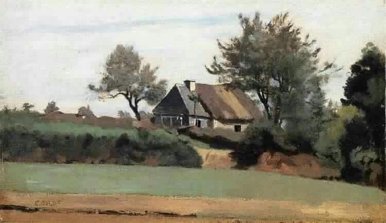 Archicourt, Near Arras Camille Corot 1857
