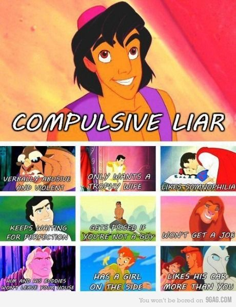 Truth Behind Disney Male Characters