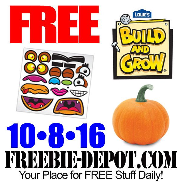 ▻▻ FREE Pumpkin Carving at Lowe\u0027s 10/8/16 ▻▻ #Free - lowes halloween