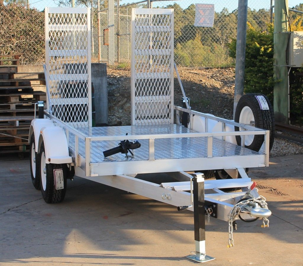 Aluminum Machine Trailers Heavy Duty Commercial Trailers