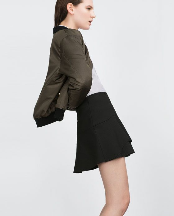 MINI SKIRT WITH FRILL - Available in more colours