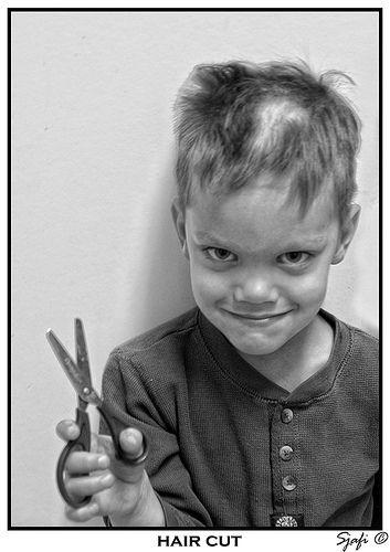 how to cut own hair easily boys