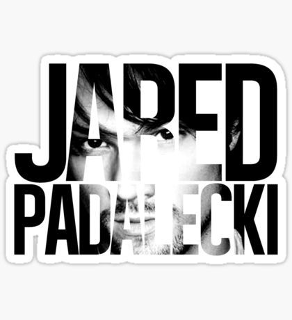 Jared padalecki sticker · jared padaleckidie cuttingstickersstickerdecals