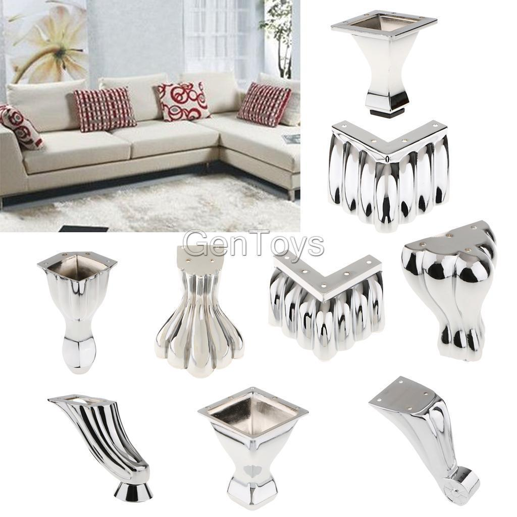 7 23 Metal Furniture Legs Feet Sofa Chairs Settees Bed