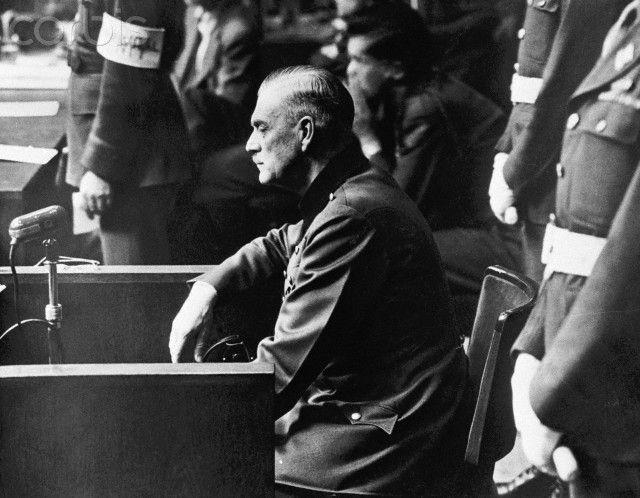 nuremberg trials | Wilhelm Keitel on the Stand at Nuremberg Trial - YK003047 - Rights ...