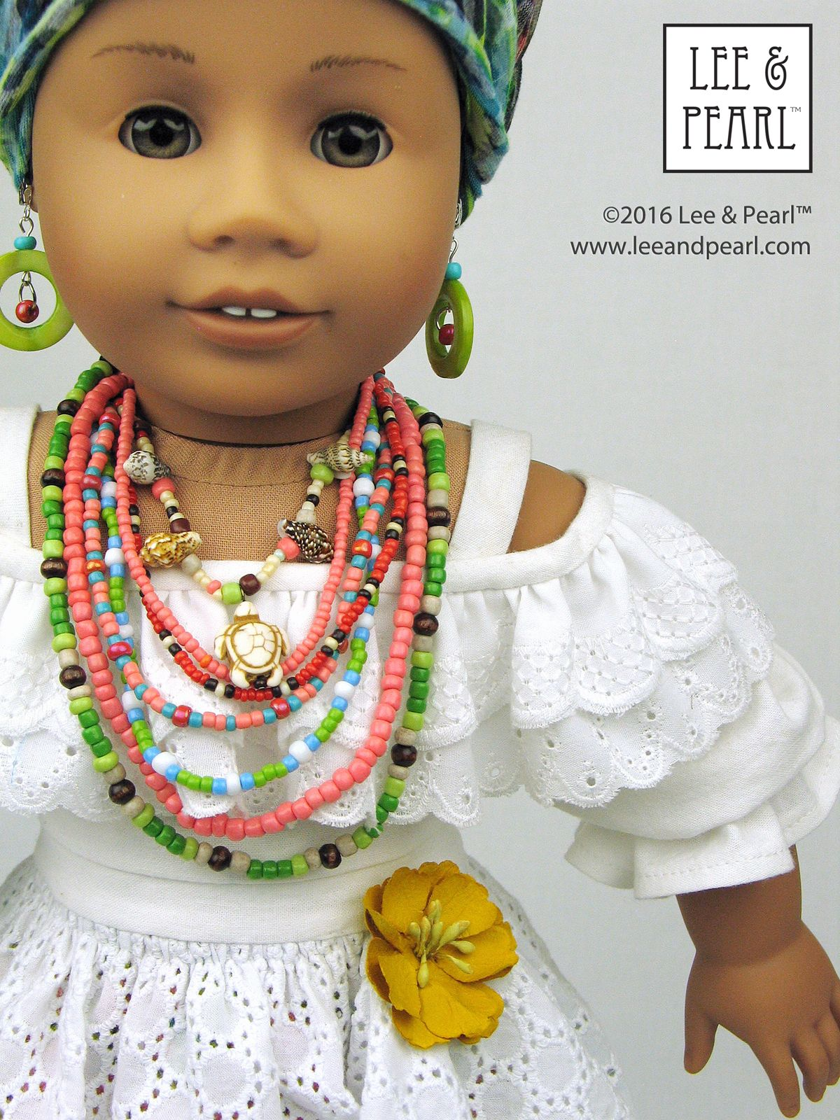 Make your own Brazilian Baiana doll! Introducing the Lee & Pearl ...