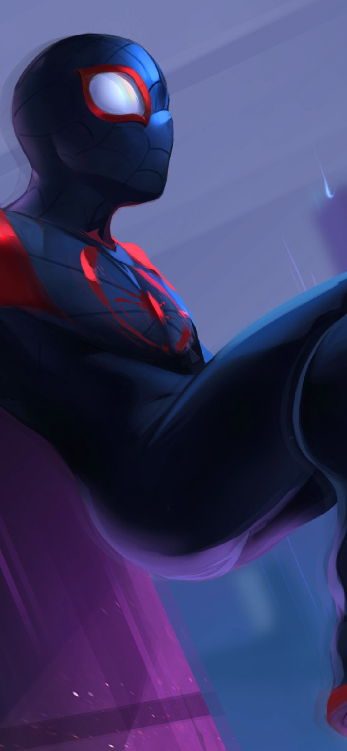 1125x2436 Spiderman Into The Spider Verse 2018 Fan Art Iphone Xs Iphone 10 Iphone X Hd 4k Wallpapers Images Backgroun Spiderman Spider Verse Iphone Wallpaper