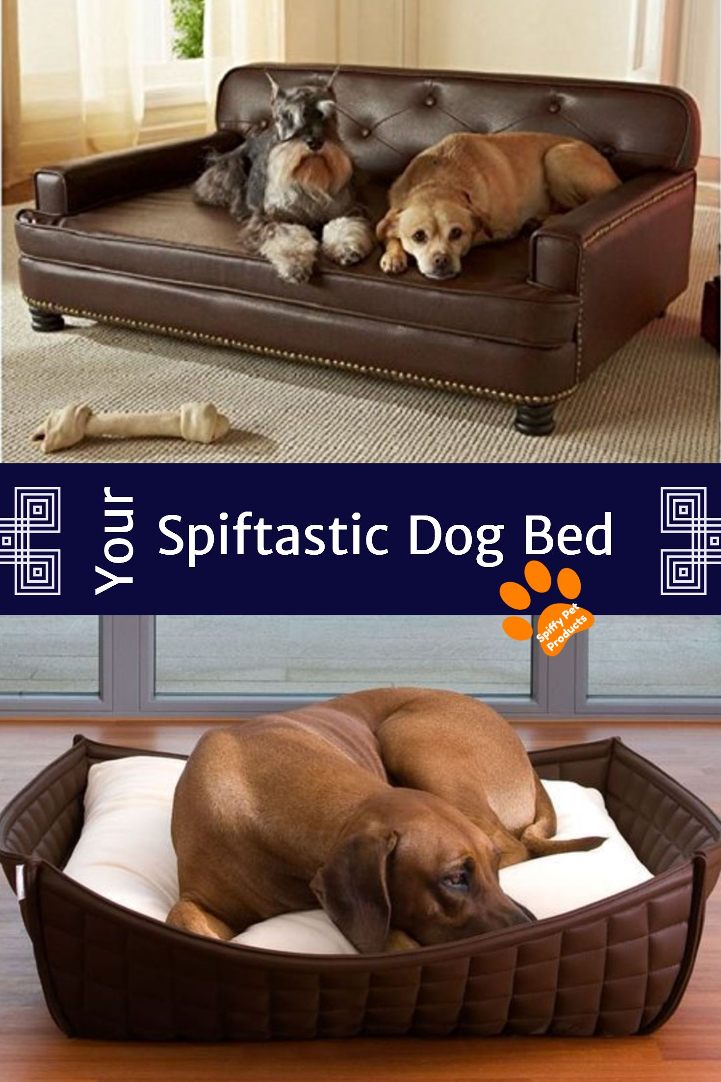 Faux Leather Dog Bed Ideas Spiffy Pet Products Leather Dog Bed Faux Leather Dog Bed Dog Bed