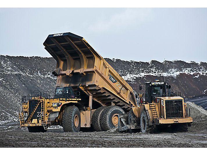 world largest haul truck caterpillar 797 aermech com