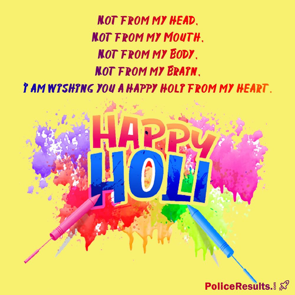 Happy Holi Quotes Inspirational & Funny Holi Quotes