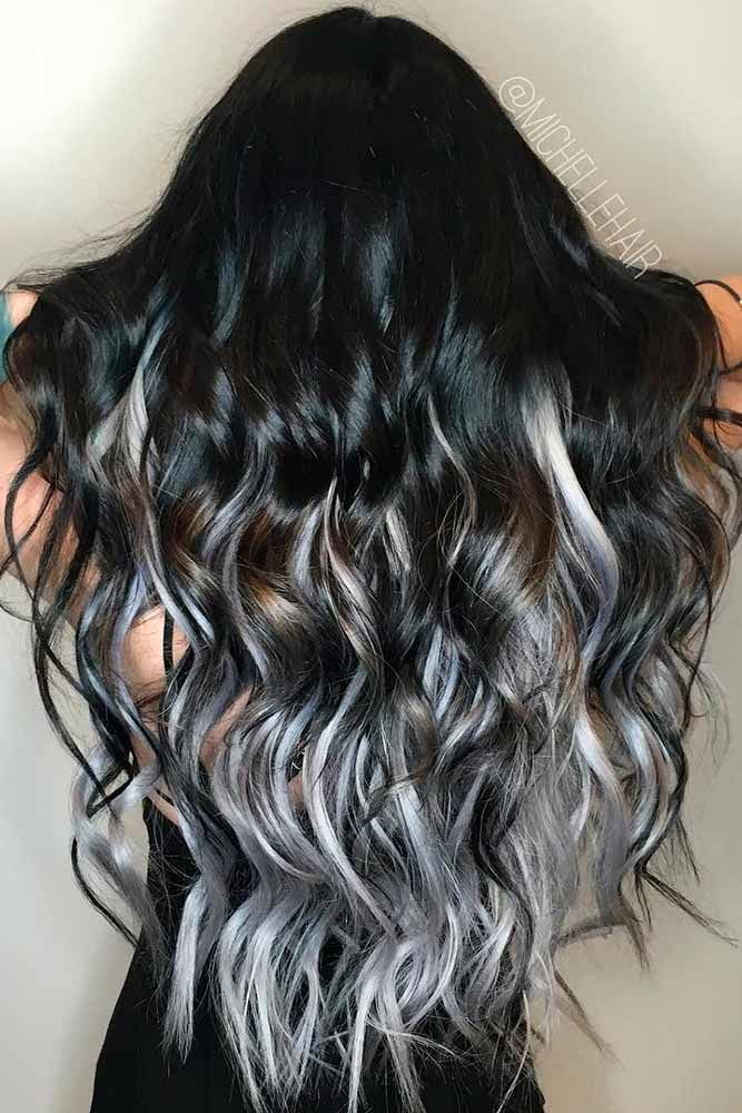 34 Beautiful Gray Hair Ideas In 2020 Ombre Hair Color Ombre Hair Hair Styles