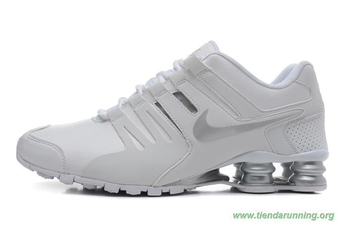 best service e2334 904b7 marcas de zapatos SCM14305 Blanco Plata Nike Shox Current Hombre-Mujeres  New Jordans Shoes,