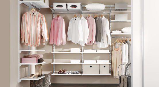 6 Tipps Fur Kleine Ankleidezimmer Ausmisten Regalsysteme