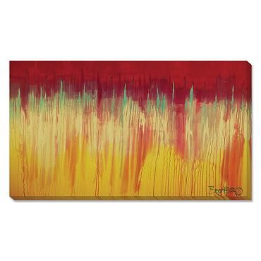 """For my Dining Room - by David Bromstad """"Dripping Pink"""" Artwork"""
