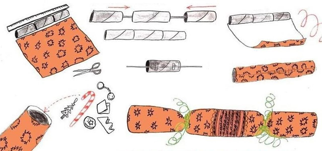 If you have a bunch of spare toilet paper tubes lying around, you're in luck this holiday season. With wrapping paper, a couple trinkets, and a pack of cracker snaps, you can make your very own Christmas crackers. Traditionally used in holiday celebrations in the United Kingdom and other Commonwealth countries, Christmas crackers are party favors that when pulled apart, produce a snapping sound and contain small trinkets such as candy, a deck of cards, toys, slips of paper with jokes written…