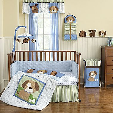 Carter S 4 Pc Puppy Baby Bedding Set