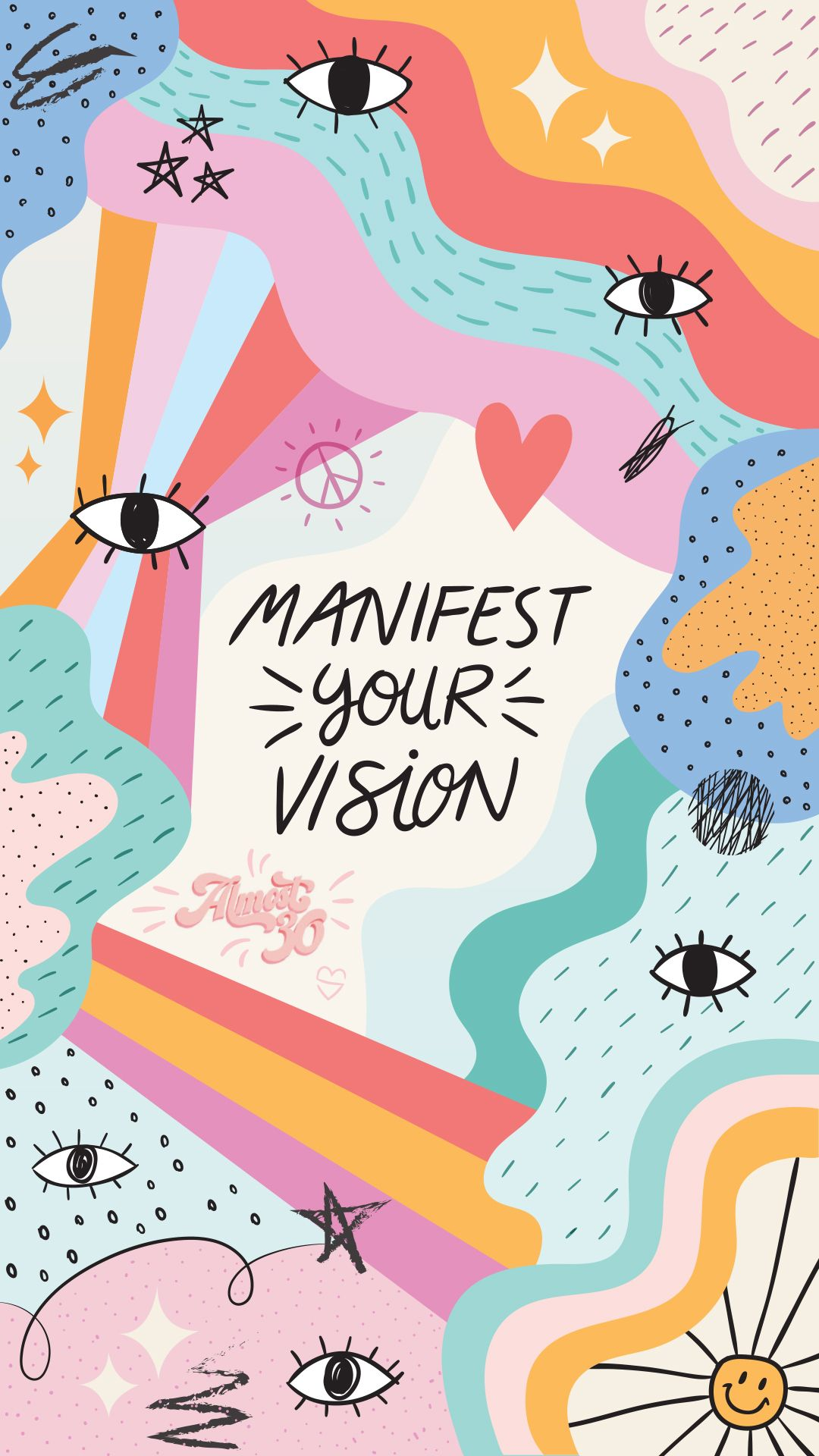 Manifest Your Vision In 2020 Phone Wallpaper Wallpaper Iphone Background