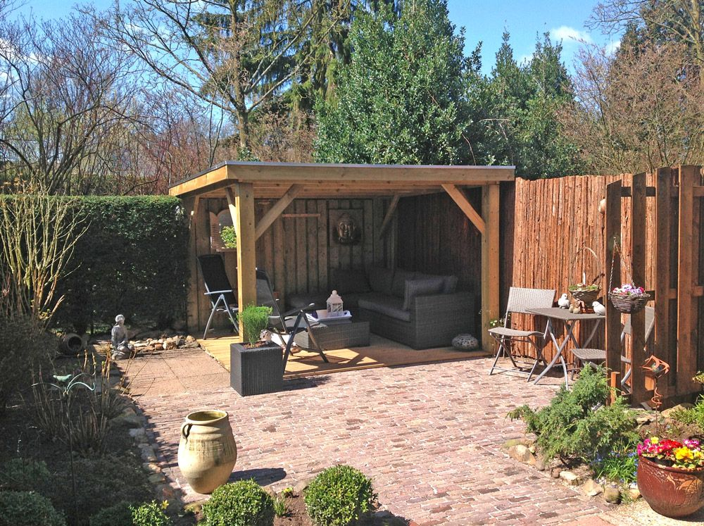 Een afdak in kleine tuin google zoeken tuin pinterest tuin en veranda 39 s - Hoe om een e b e bpergola te bedekken ...