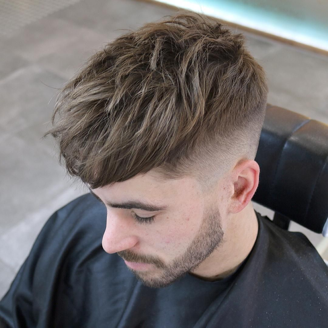 types of taper fade haircuts choppy taper fade hair styles coiffures 5090