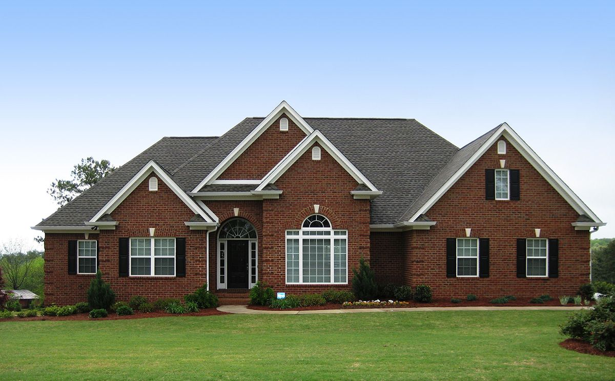 Plan 24325tw One Story Wonder Ranch Style House Plans Ranch House Plans Brick House Plans