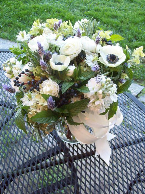 Sweet Pea Floral Design Lavender Centerpieces Herb Centerpieces Bridal Flower Arrangements