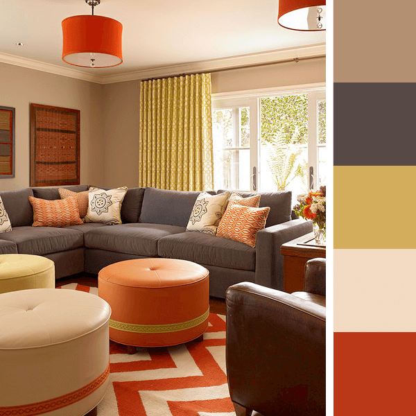 Ideias de cores para sala como escolher cores para sala for Sofa para sala de tv
