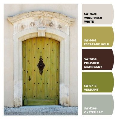 color palette - by Sherwin-Williams | Cheap Home Decor | Pinterest ...