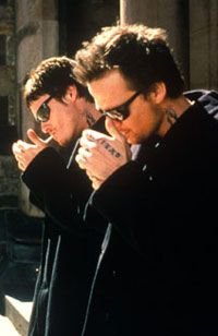 Boondock saints neck tattoo