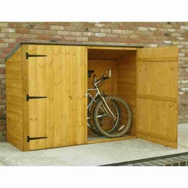 6x3 shire wooden bike shed sanders house pinterest. Black Bedroom Furniture Sets. Home Design Ideas