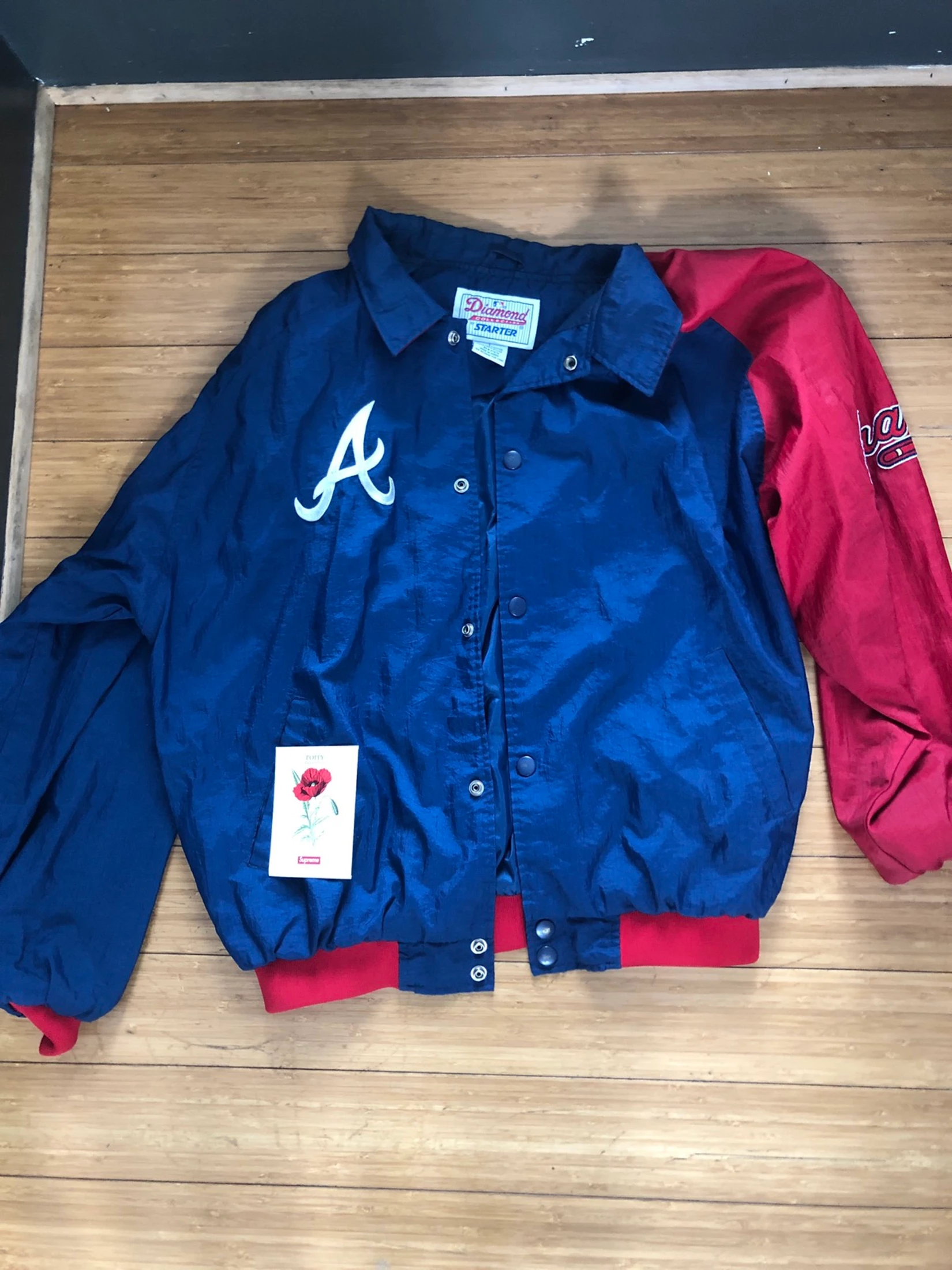 Starter Atlanta Braves Starter Jacket L Grailed Jackets Atlanta Braves Sweatshirts Hoodie