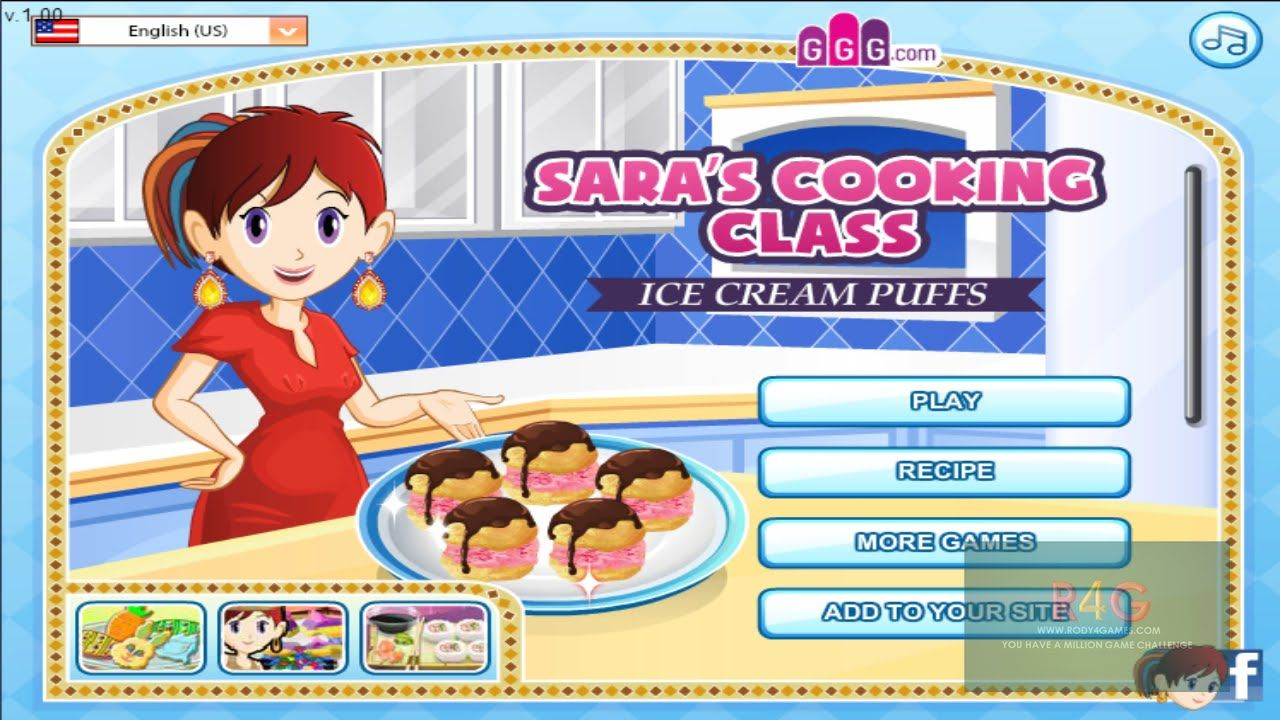 How to play Ice Cream Puff sara cooking games friv 300