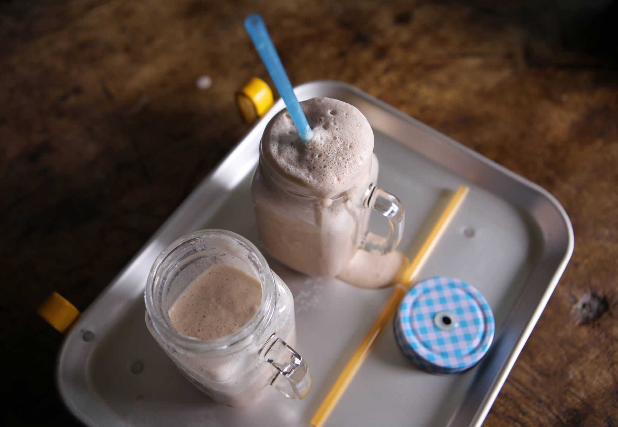 Cola Milkshake #farmhouserulesrecipes