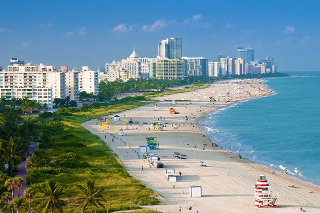 26 of the most iconic beaches in the world: South Beach, Miami, Florida