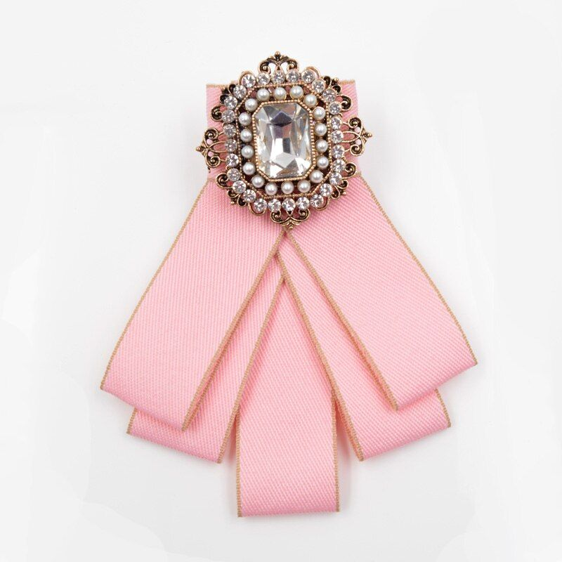 Cindy Xiang Vintage Fabric Handmade Bow Brooches For Women Neck Tie Imported Material Wedding Party Accessories High Quality 501stores In 2020 Handmade Bows Women S Neck Ties Wedding Party Accessories