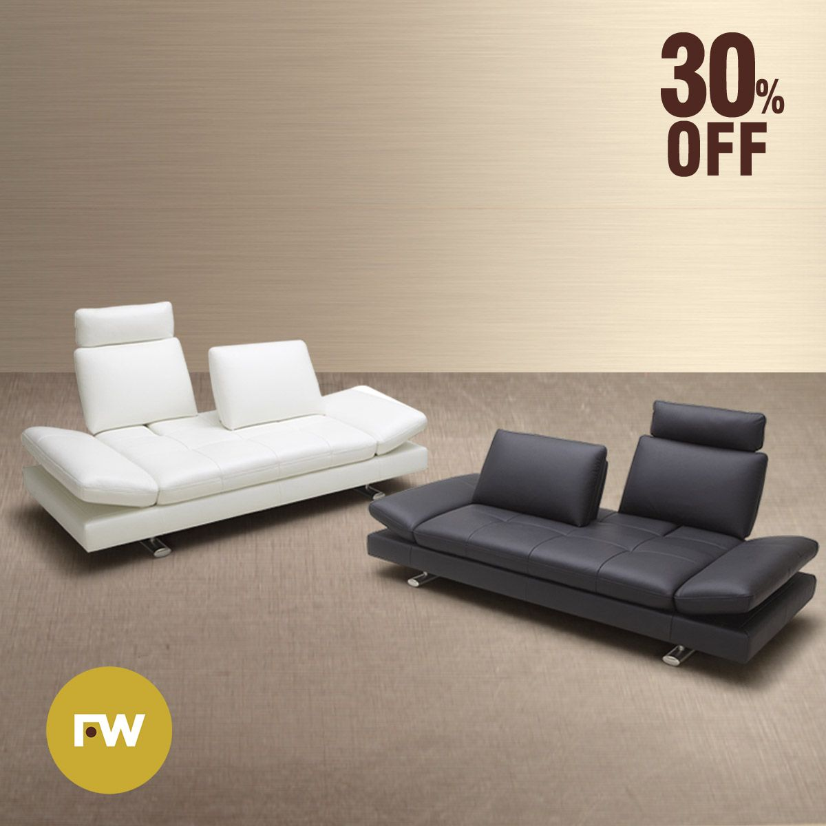 Sofa Reclinavel Como Inclinar 30 Off On This Luxurious Leather Sofa With Adjustable Arm Rest