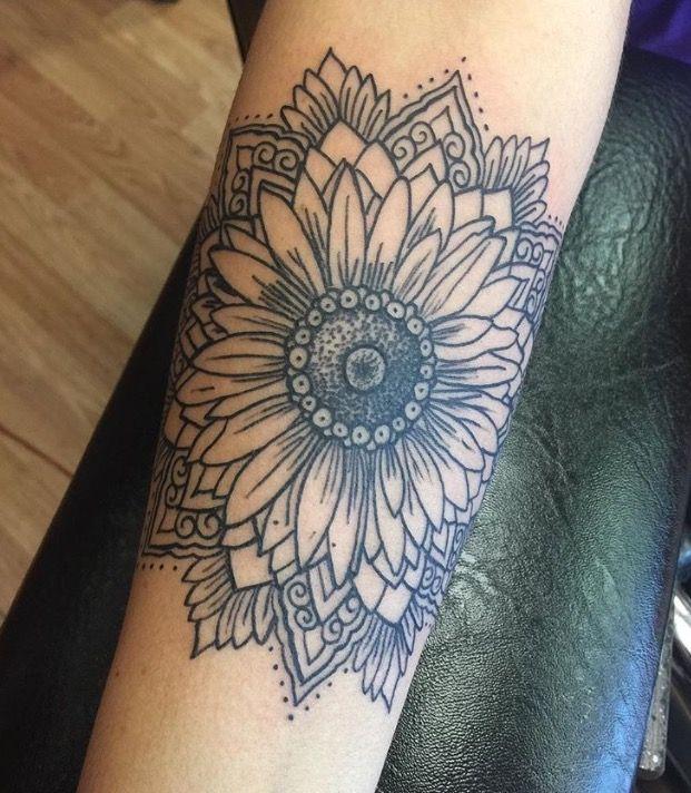 Mandala Tattoo Design On Pinterest: Tattoos, Sunflower