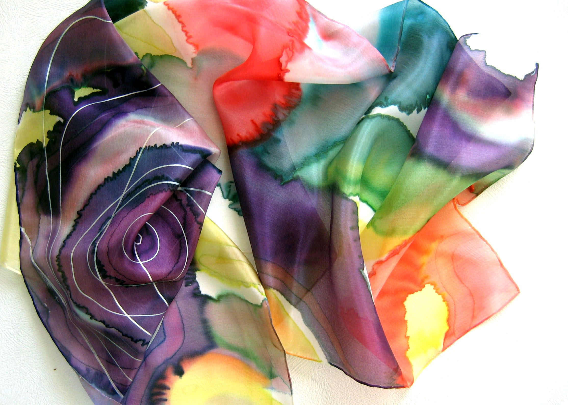 https://www.etsy.com/listing/184259291/hand-painted-pure-silk-scarf-violet-red